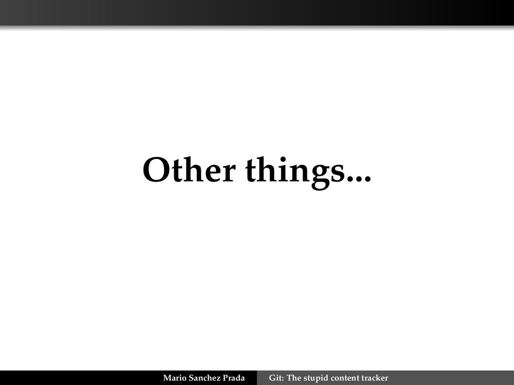 Other things... Mario Sanchez Prada Git: The st...