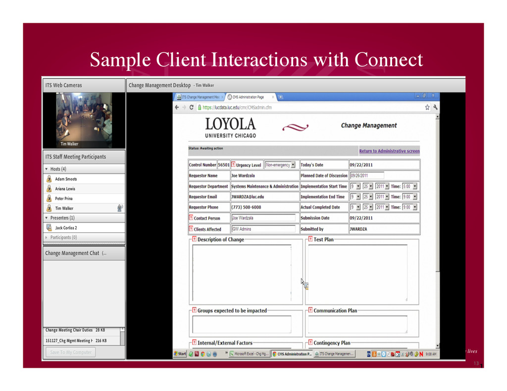 1 3 Sample Client Interactions with Connect 13