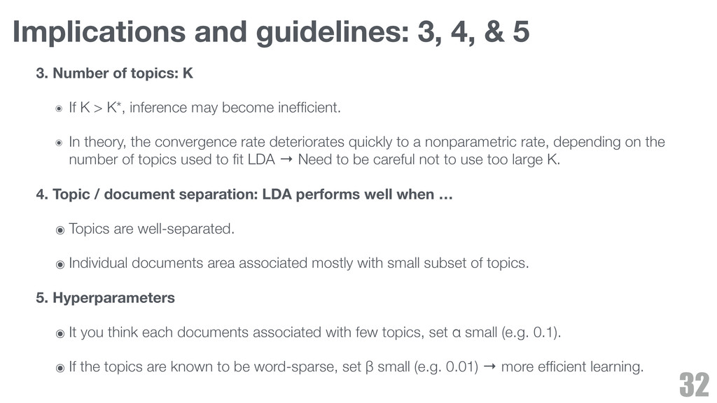 Implications and guidelines: 3, 4, & 5 3. Numbe...