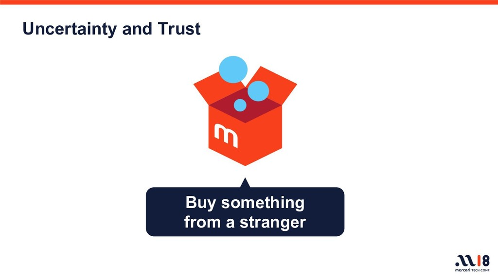 Uncertainty and Trust Buy something from a stra...