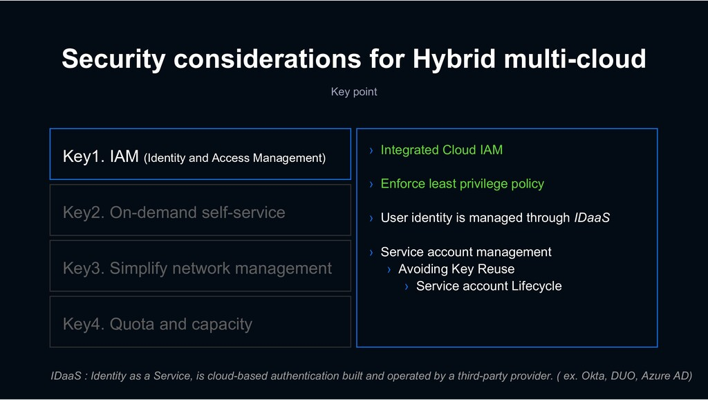 Security considerations for Hybrid multi-cloud ...