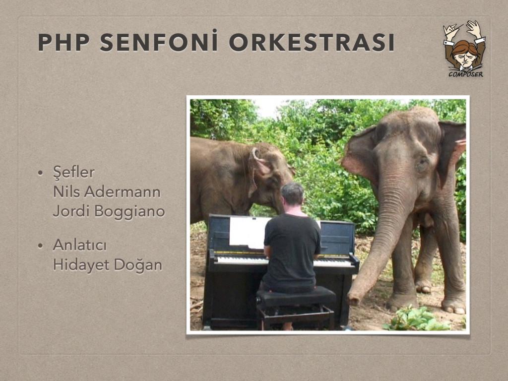 PHP SENFONİ ORKESTRASI • Şefler Nils Adermann ...