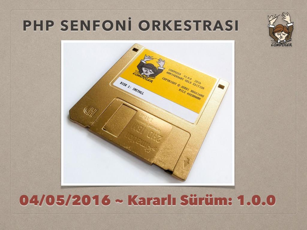 PHP SENFONİ ORKESTRASI 04/05/2016 ~ Kararlı Sür...