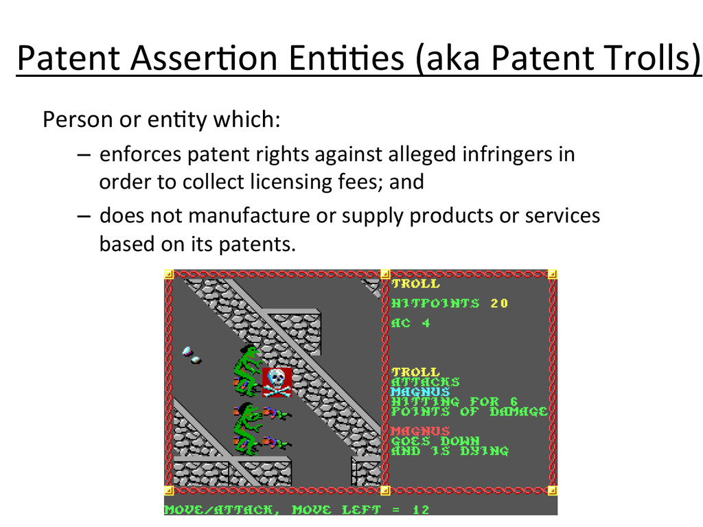 Patent Asser.on En..es (aka Patent...