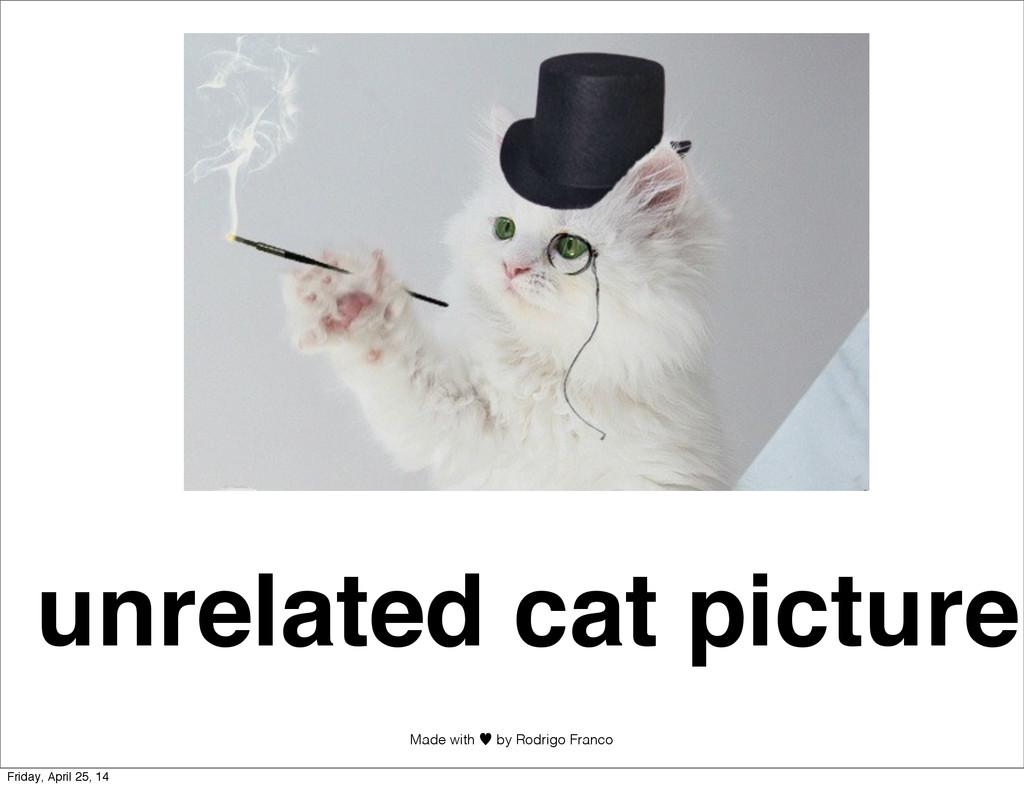 Made with —︎ by Rodrigo Franco unrelated cat pi...