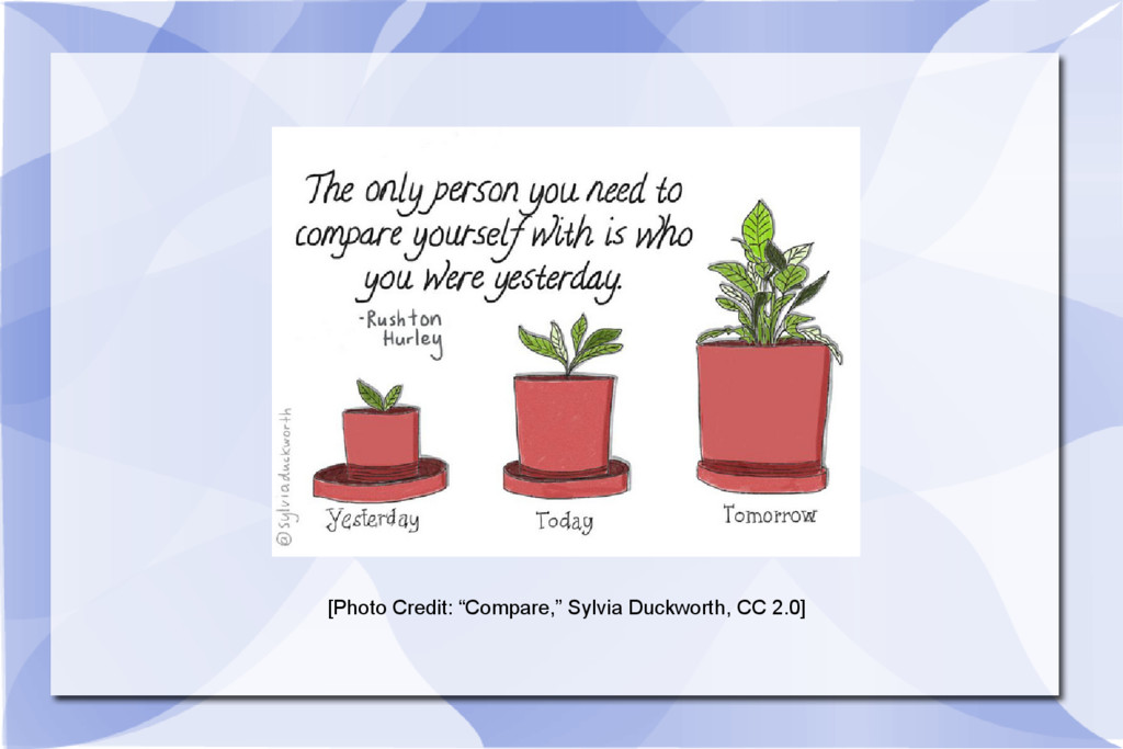 "[Photo Credit: ""Compare,"" Sylvia Duckworth, CC ..."
