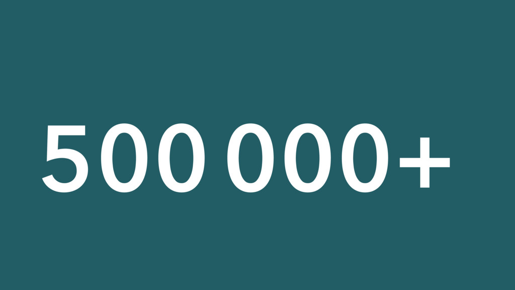500000+