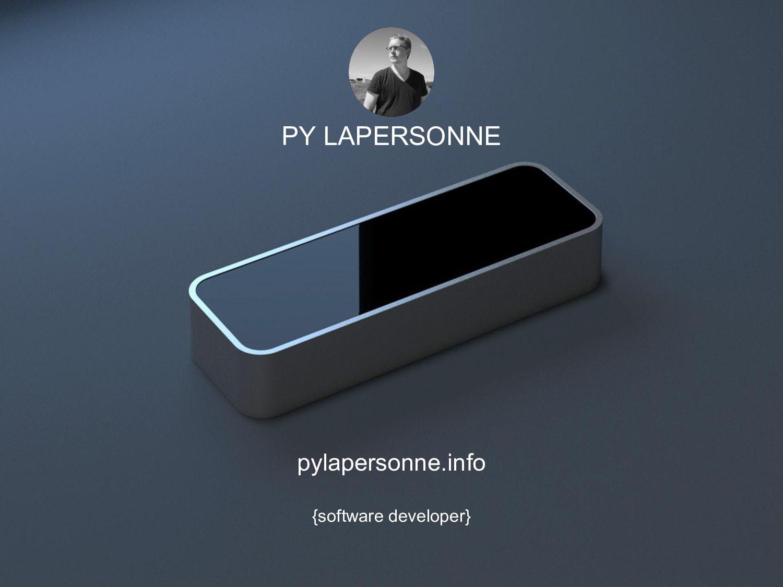 PY LAPERSONNE pylapersonne.info {software devel...