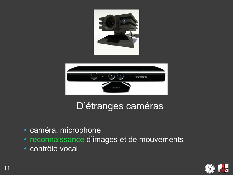 11 D'étranges caméras • caméra, microphone • re...