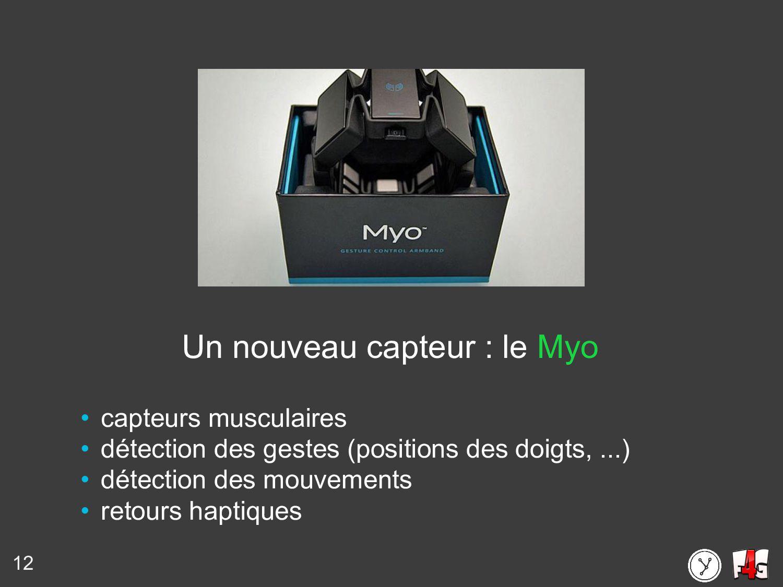 12 Un nouveau capteur : le Myo • capteurs muscu...