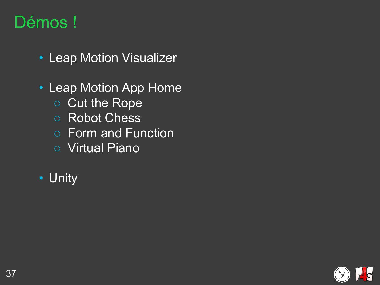 37 Démos ! • Leap Motion Visualizer • Leap Moti...