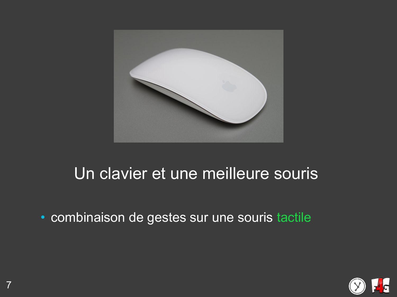 7 Un clavier et une meilleure souris • combinai...