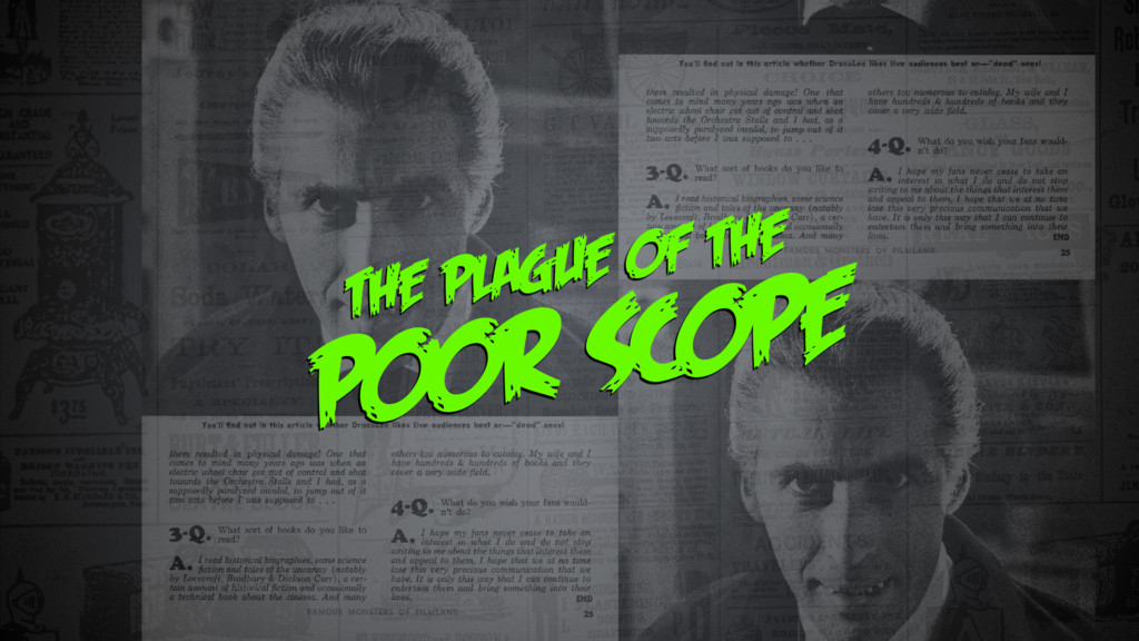 THE PLAGUE OF THE POOR SCOPE
