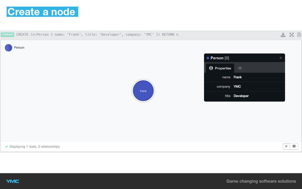 Create a node