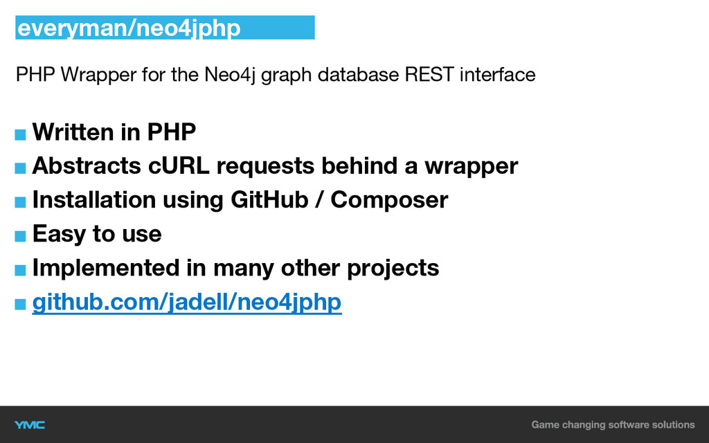 PHP Wrapper for the Neo4j graph database REST i...