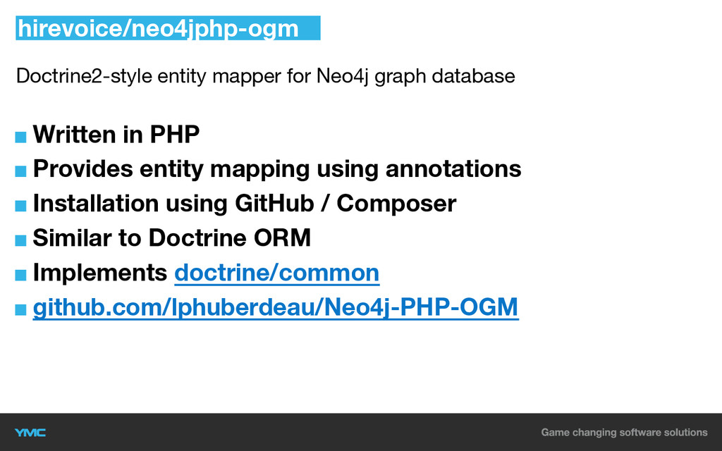 Doctrine2-style entity mapper for Neo4j graph d...