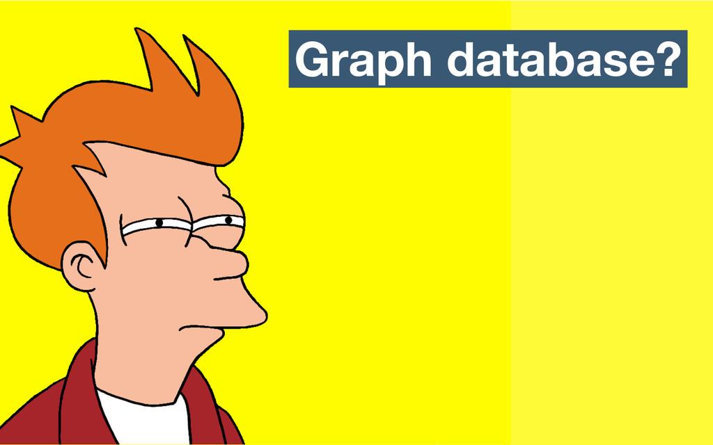 Graph database?