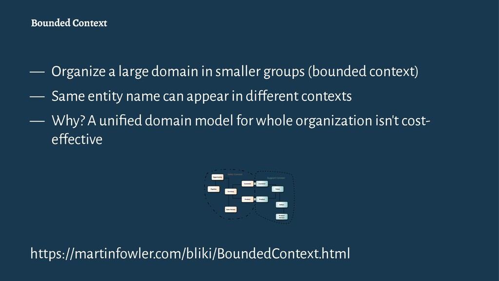Bounded Context — Organize a large domain in sm...