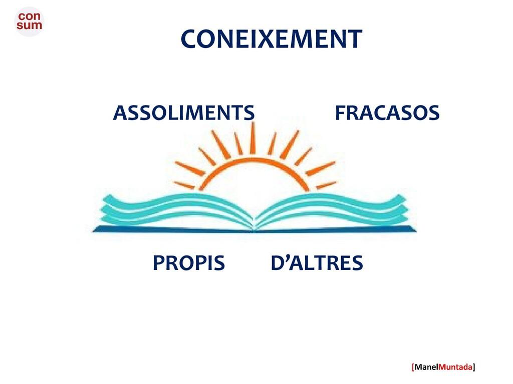 CONEIXEMENT ASSOLIMENTS FRACASOS PROPIS D'ALTRES