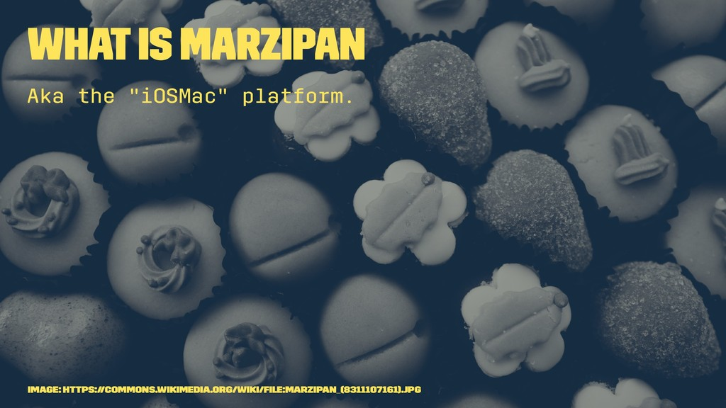 "What is Marzipan Aka the ""iOSMac"" platform. Ima..."