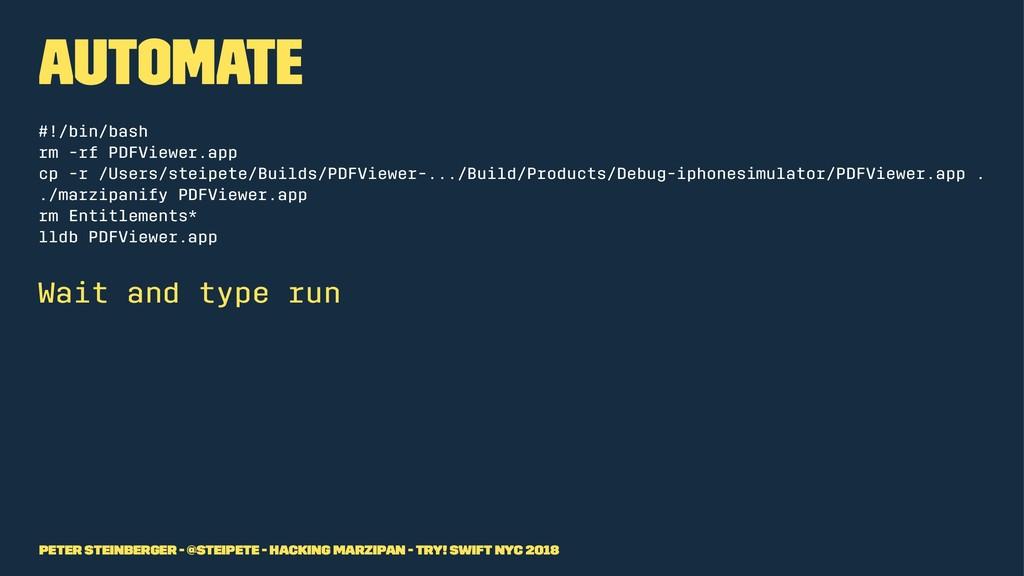 Automate #!/bin/bash rm -rf PDFViewer.app cp -r...