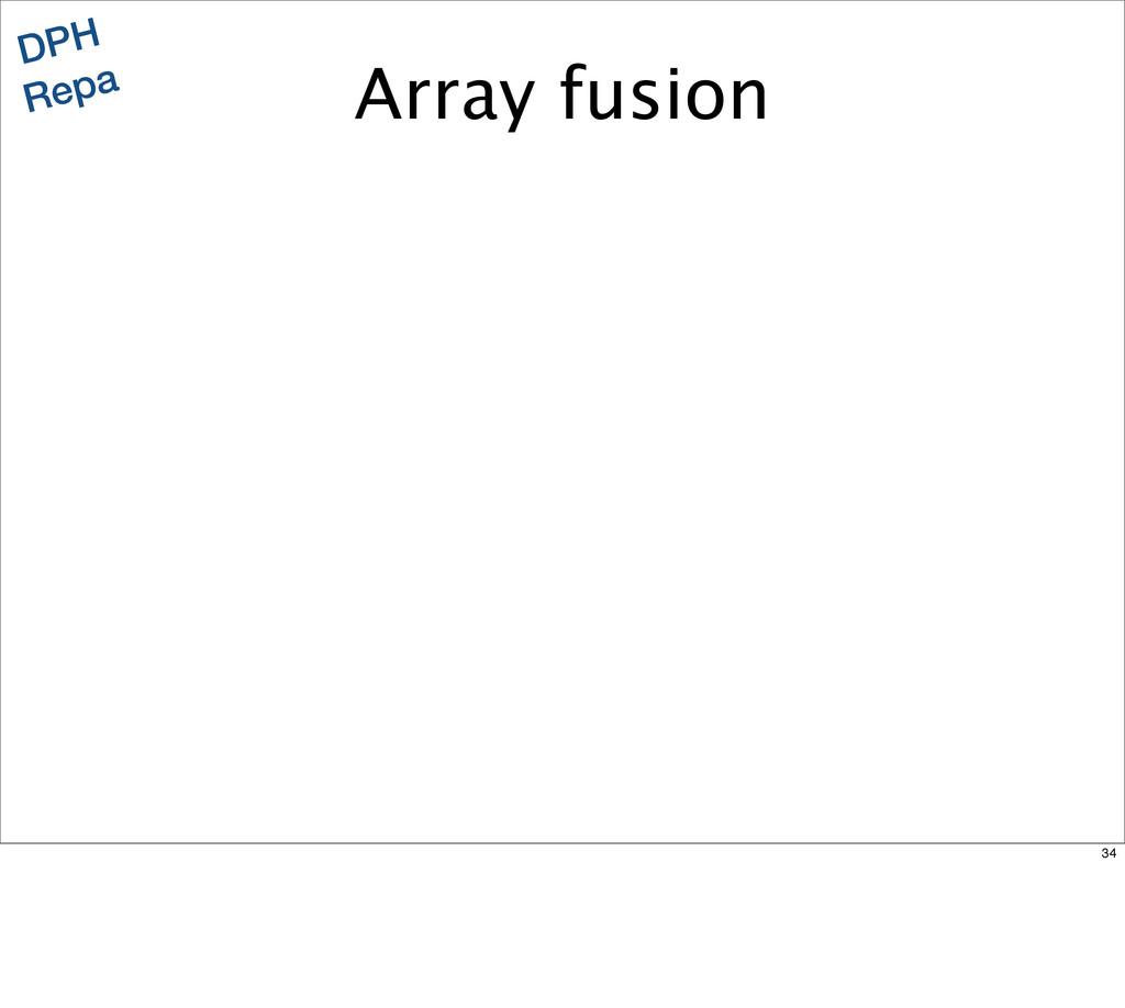 DPH Repa Array fusion 34