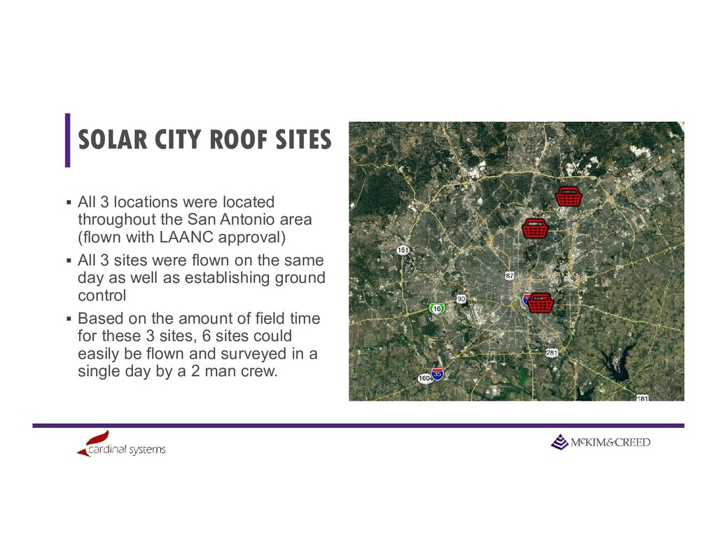 SOLAR CITY ROOF SITES  All 3 locations were lo...