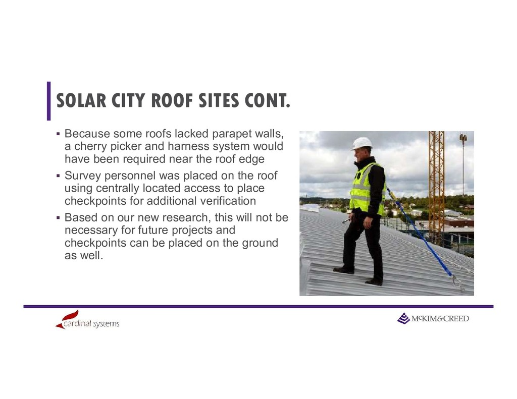SOLAR CITY ROOF SITES CONT.  Because some roof...
