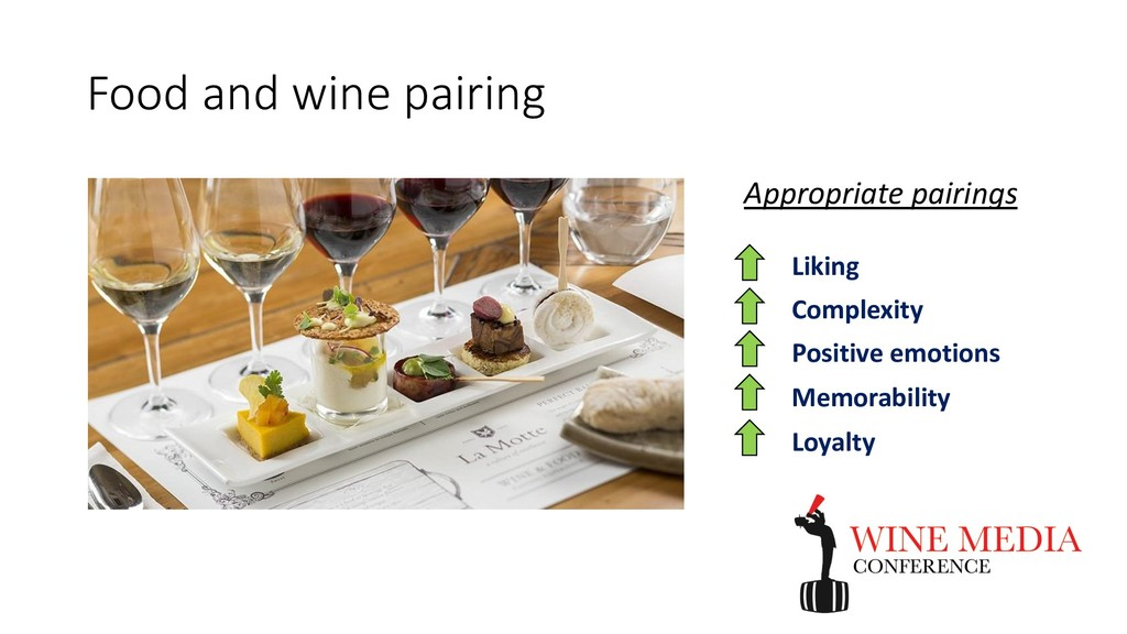 Food and wine pairing Appropriate pairings Liki...