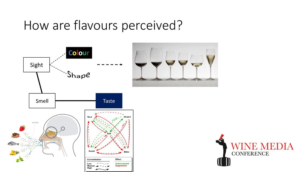 How are flavours perceived? Smell Taste Sight C...