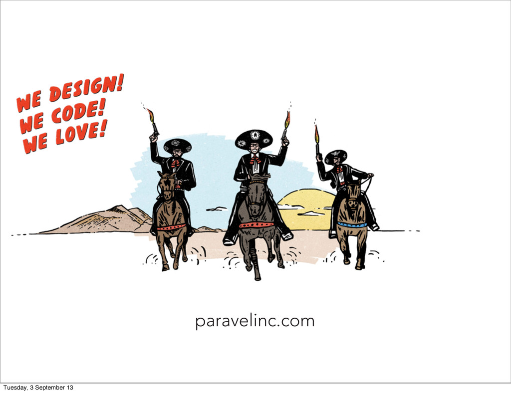 paravelinc.com Tuesday, 3 September 13