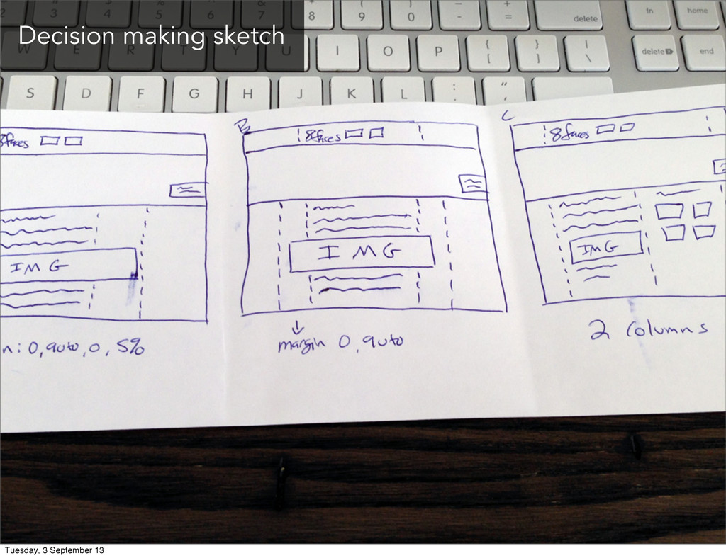 Decision making sketch Tuesday, 3 September 13