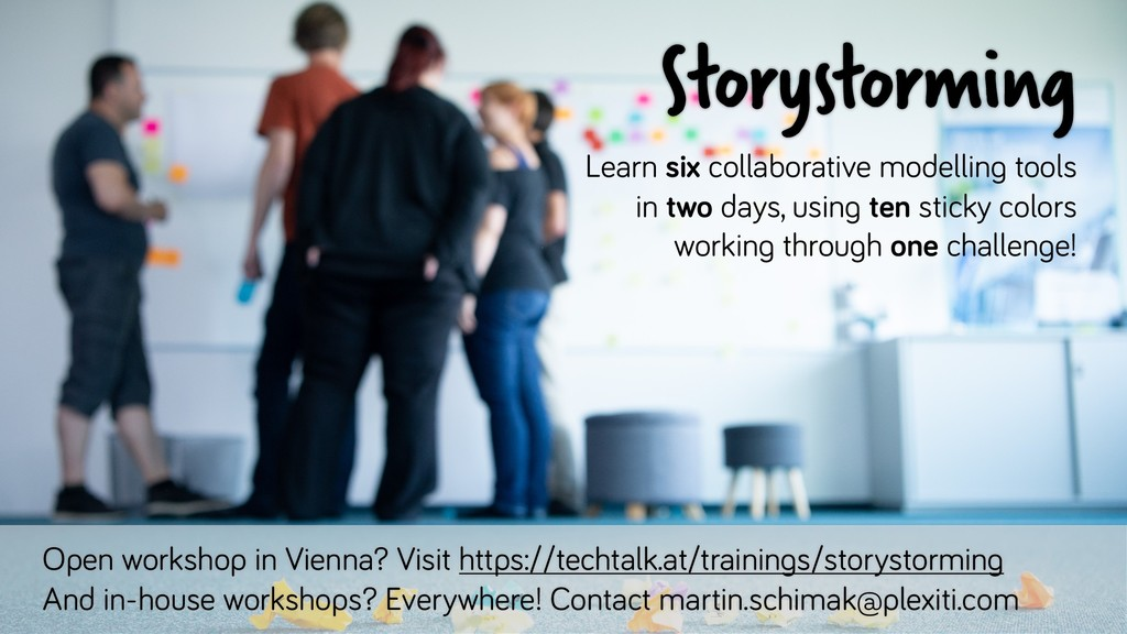 Storystorming Learn six collaborative modelling...
