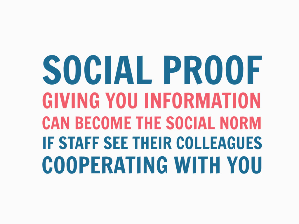 GIVING YOU INFORMATION SOCIAL PROOF CAN BECOME ...