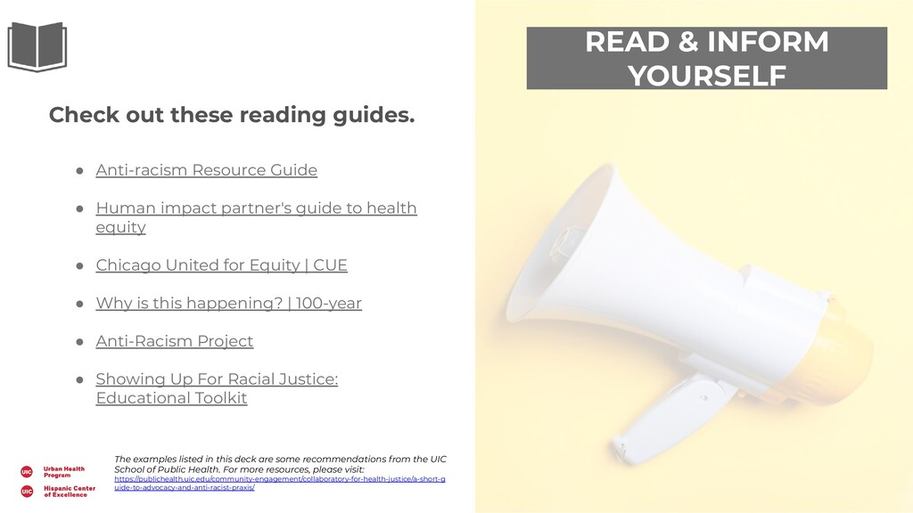 READ & INFORM YOURSELF Check out these reading ...