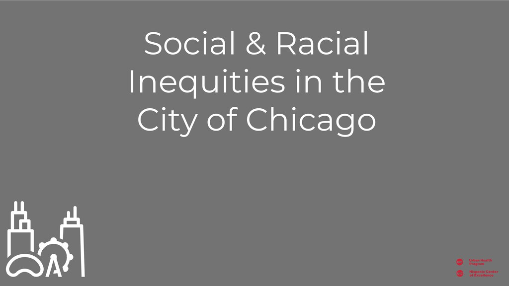 Social & Racial Inequities in the City of Chica...