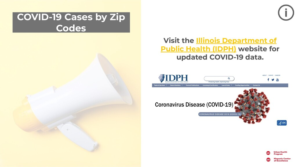 COVID-19 Cases by Zip Codes Visit the Illinois ...
