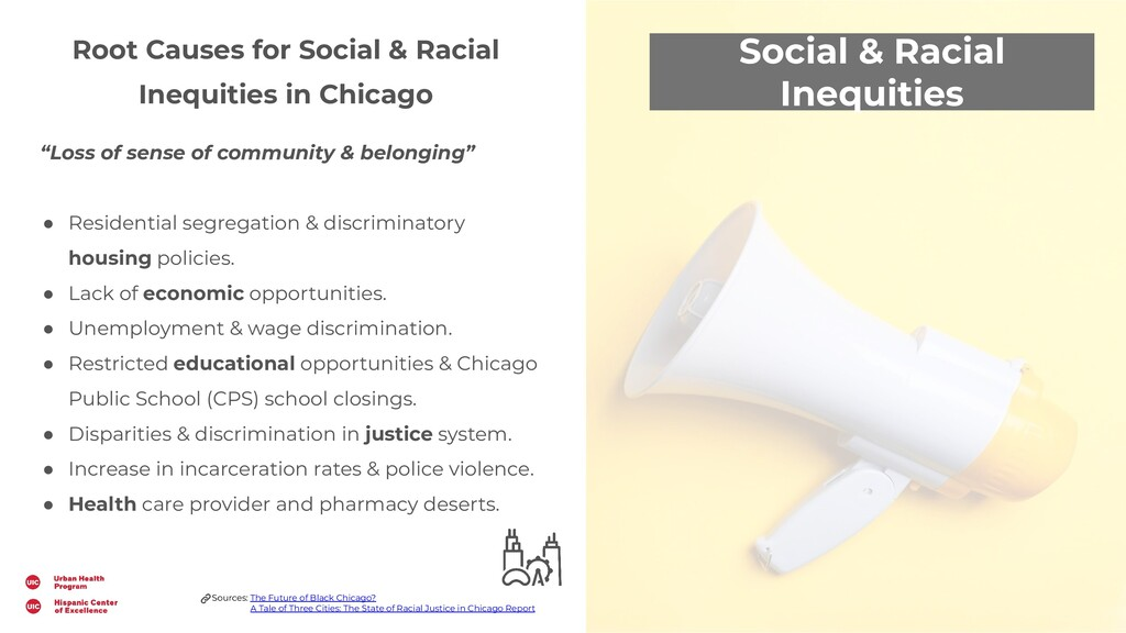 Social & Racial Inequities Root Causes for Soci...