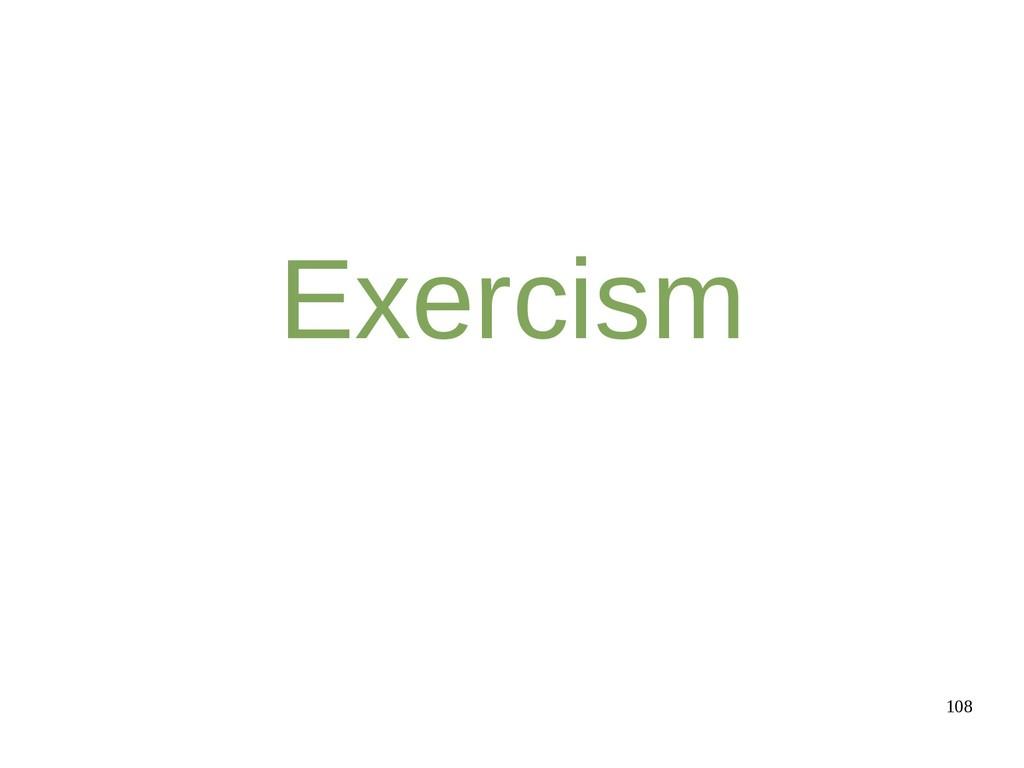 108 Exercism