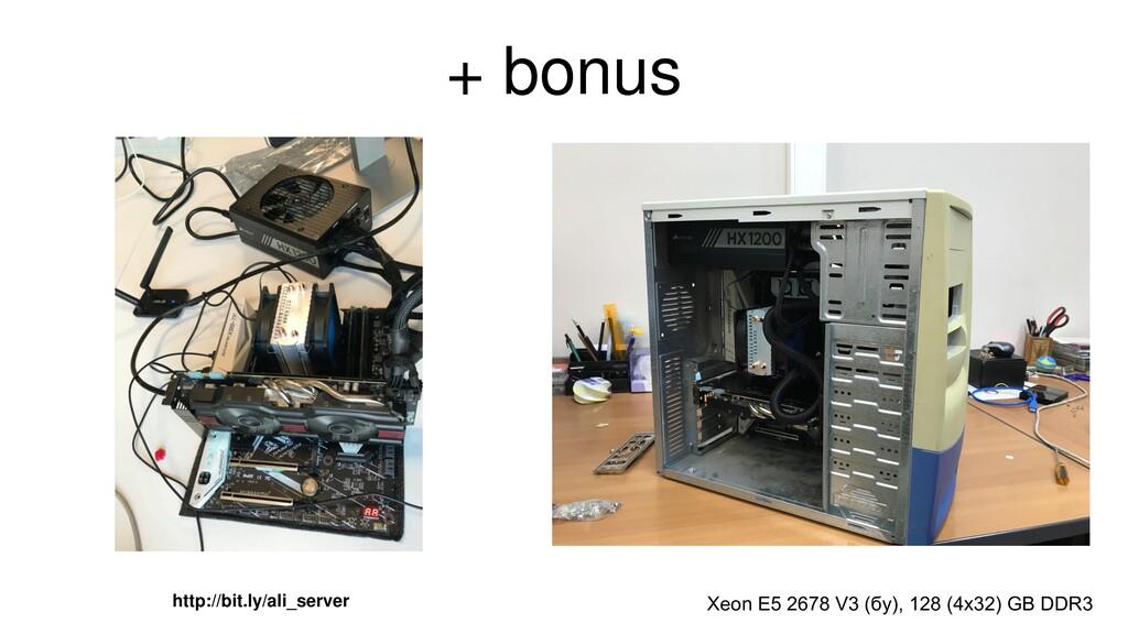 + bonus Xeon E5 2678 V3 (бу), 128 (4x32) GB DDR...