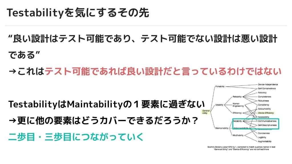 """© 2012-2019 BASE, Inc. Testabilityを気にするその先 """"良い設..."""