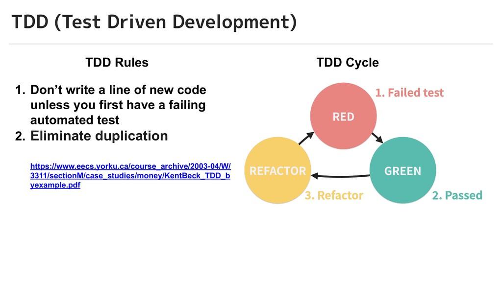 © 2012-2019 BASE, Inc. 6 TDD (Test Driven Devel...