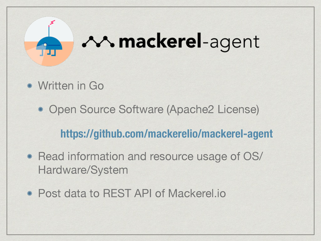 Written in Go  Open Source Software (Apache2 Li...