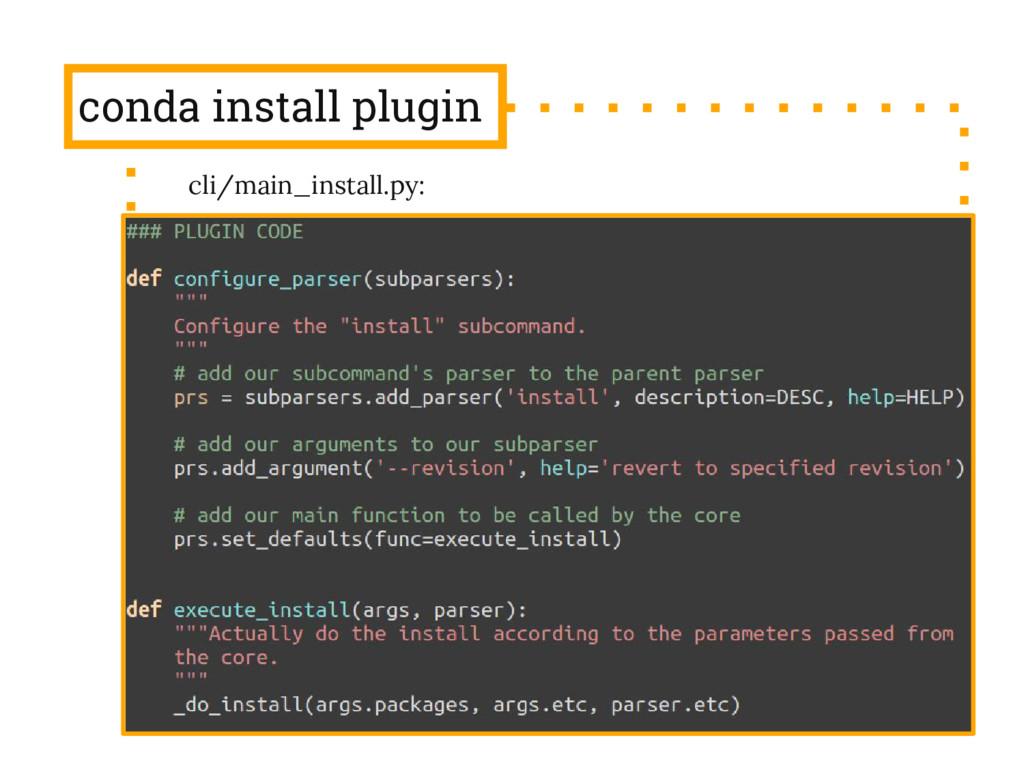 conda install plugin cli/main_install.py: