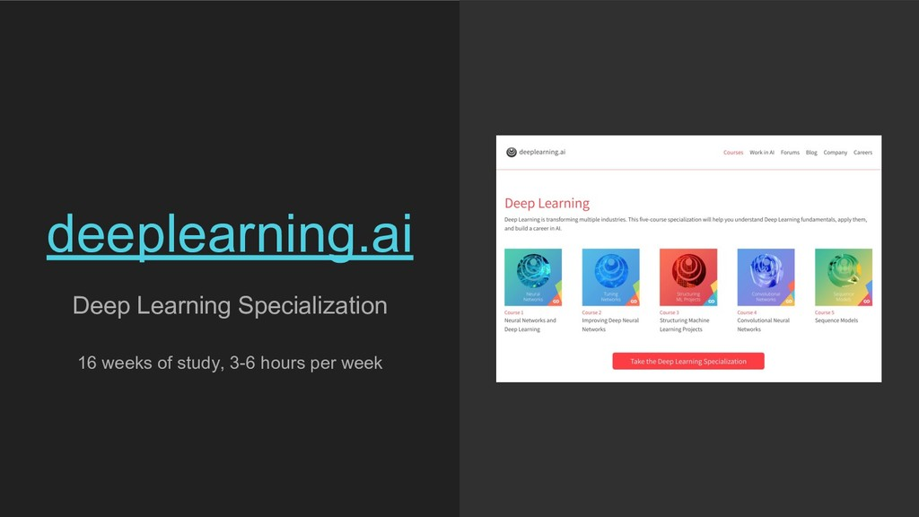 Deep Learning Specialization 16 weeks of study,...