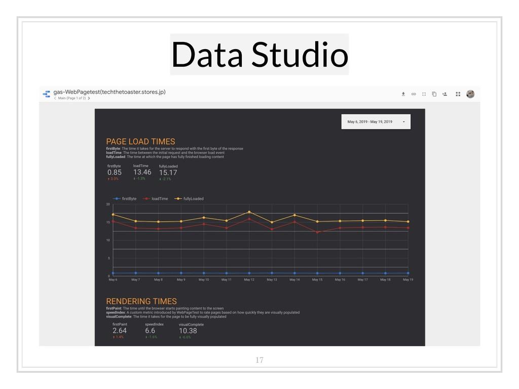 Data Studio 17