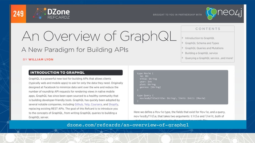 dzone.com/refcardz/an-overview-of-graphql