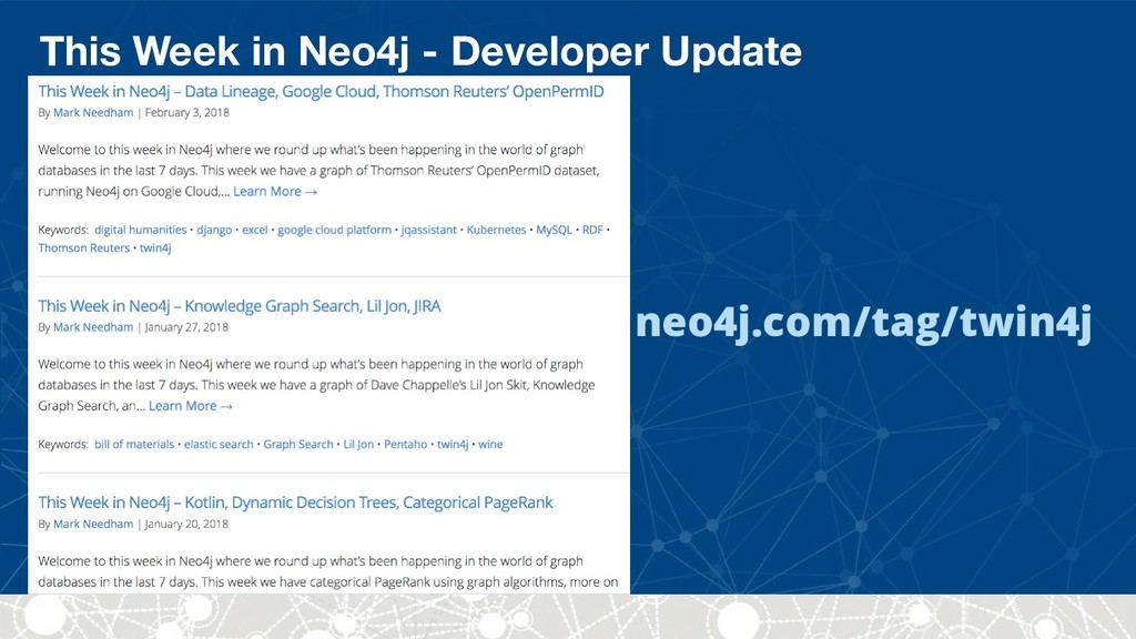 This Week in Neo4j - Developer Update neo4j.com...