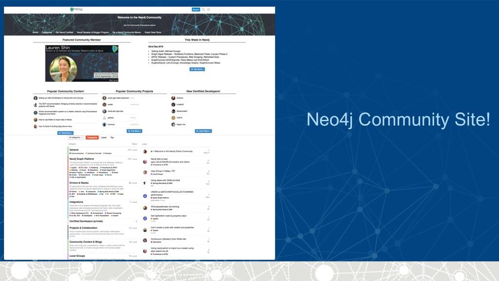 Neo4j Community Site!