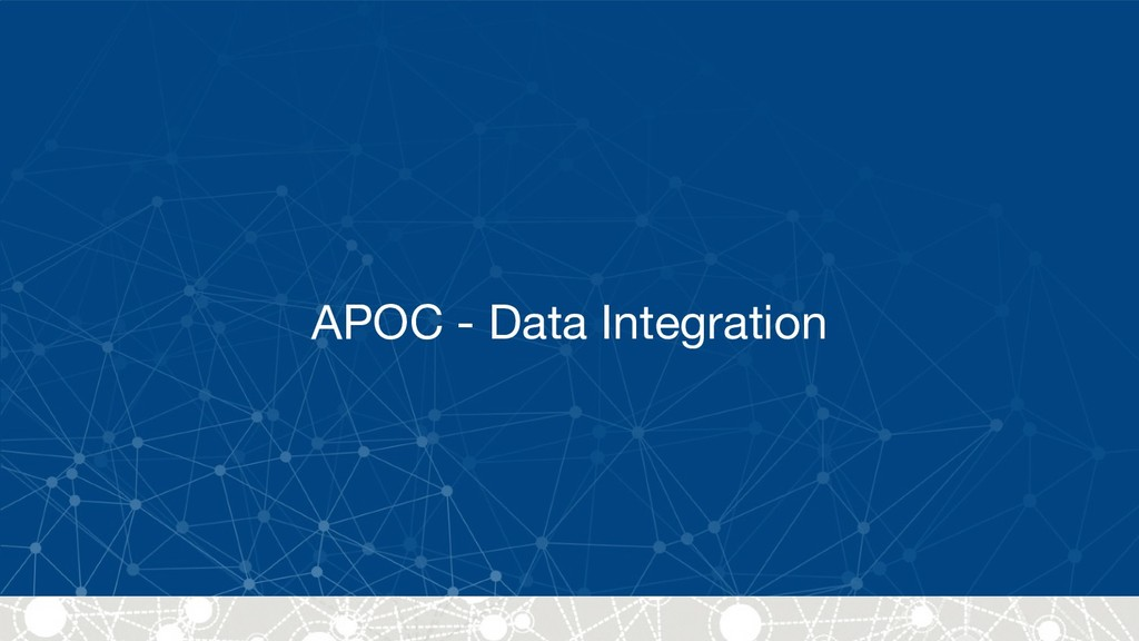 APOC - Data Integration